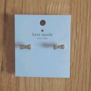Kate Spade bow tie earrings